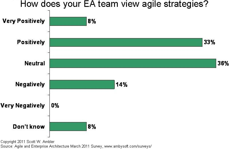 EA team's attitude towards agility